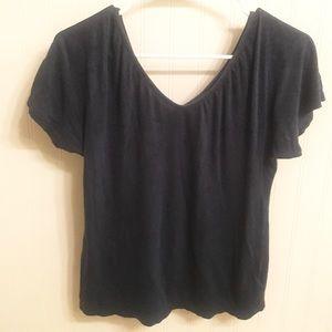 Cotton Vneck blouse